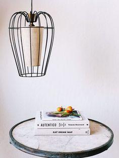 Vintage Wire Pendant