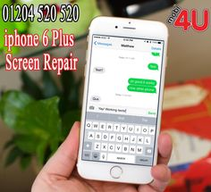 Mobi 4 U uses Apple certified technicians to accomplish repairs on Apple devices, including the iPhone 6 plus screen repair. We furthermore offer a special warranty whereby if your iPhone 6 plus screen breaks in the next 12 months, we will repair it for free.