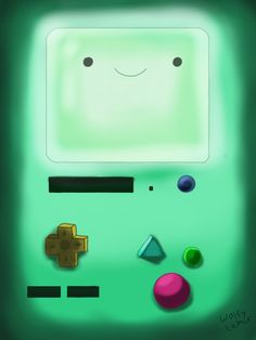 BMO iPad/iPhone Background by Kawaii-Okami.deviantart.com on @DeviantArt