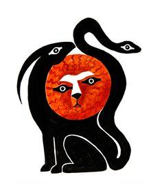 Χίμαιρα - QUIMERA Ser monstruoso, hija de Tifoeo y de Equidna, cabra-león-sepiente.
