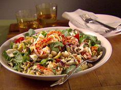Neapolitan Calamari and Shrimp Salad from FoodNetwork.com