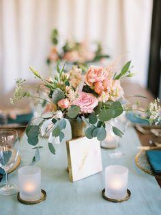 Photography: Lauren Kinsey Fine Art Wedding Photography - laurenkinsey.com Floral Design: Myrtie Blue - myrtieblue.com   Read More on SMP: http://www.stylemepretty.com/2015/01/21/romantic-pastel-rosemary-beach-wedding/