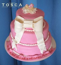 Tort tematic - Botez fetita