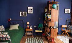 Bleu et vert-Anne-Sophie Pailleret et Alexis,  Louis 10 ans, Auguste 8 ans, Victoire 5 ans