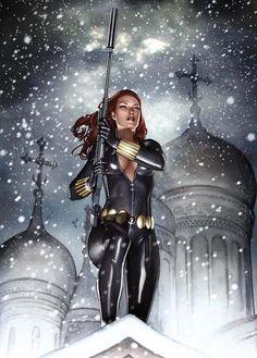 Black Widow  - via www.StephenHunt.net