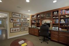 Case Design/Remodeling, Inc. - traditional - home office - dc metro - Case Design/Remodeling, Inc.