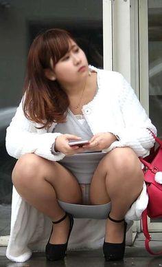 ○パンチラ - みちゃダメ!だって! Sexy Asian Girls, Hot Girls, Up Skirt Pics, Pantyhose Outfits, Japanese Girl, Asian Beauty, White Dress, Womens Fashion, Belle