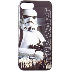 Star Wars Stormtrooper iPhone 5/5s Phone Case ($13) ❤ liked on Polyvore featuring accessories, tech accessories, phone cases and phones