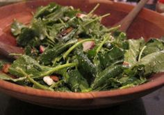 Mother's Day Baby Kale Salad with Goat Cheese and Pepitas - Julie du Pont's Blog - Darien, CT Patch