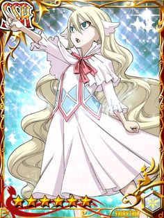 Mavis Vermilion/ the first guild master and founder of Fairy Tail Fairy Tail ルーシー, Fairy Tail Games, Image Fairy Tail, Fairy Tail Natsu And Lucy, Fairy Tail Family, Fairy Tail Anime, Fairy Tales, Jellal And Erza, Zeref