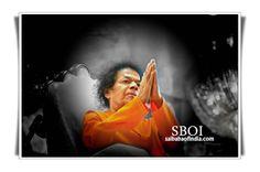 """Sri Sathya Sai Baba – Namaskar Photos  """"Farewell"""" Pictures Swami doing Namskar   Sri Sathya Sai Aradhana Mahotsavam - Swami's Mahasamdhi Day"""