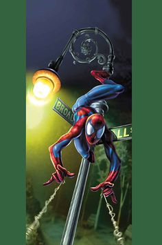 #Ultimate #Spiderman #Fan #Art. (Ultimate Spider-Man Vol.1 #23 Cover) By: Mark Bagley. (THE * 5 * STÅR * ÅWARD * OF: * AW YEAH, IT'S MAJOR ÅWESOMENESS!!!™)[THANK Ü 4 PINNING!!!<·><]<©>ÅÅÅ+(OB4E)