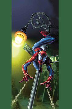 #Ultimate #Spiderman #Fan #Art. (Ultimate Spider-Man Vol.1 #23 Cover) By: Mark Bagley. (THE * 5 * STÅR * ÅWARD * OF: * AW YEAH, IT'S MAJOR ÅWESOMENESS!!!™)[THANK Ü 4 PINNING!!!<·><]<©>ÅÅÅ+(OB4E)
