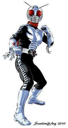 Kamen Rider Super 1 (O branco, preto e vermelho)