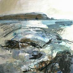 Jo Ellis – Mixed media painting