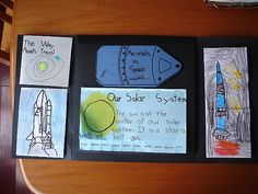 Space Lapbook Ideas | Homeschool Families Blog