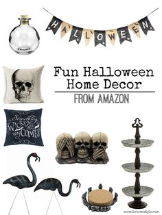 Looking to add fun new Halloween decor to your home this year? Here are some great finds from Amazon!