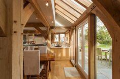 5 bedroom oak frame home in Cornwall   Carpenter Oak