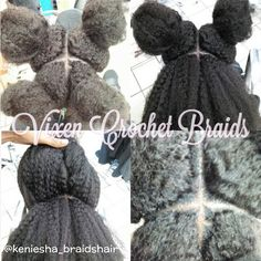 Vixen crochet braids by @keniesha_braidshair I saw this while searching the internet. She did an excellent job