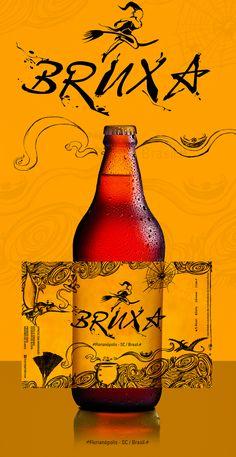 Rotulo Cerveja Bruxa on Behance