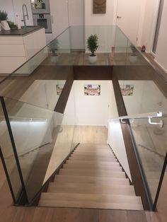 Corten steel staircase