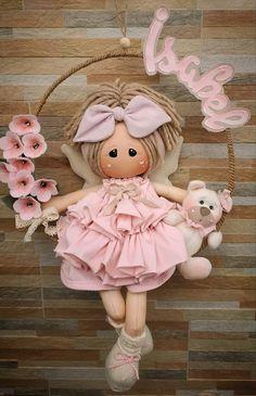 Doll Toys, Baby Dolls, Hand Embroidery Patterns Flowers, Felt Decorations, Sewing Dolls, Soft Dolls, Doll Crafts, Fabric Dolls, Miniature Dolls