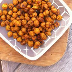 Spice-Roasted Chickpeas.