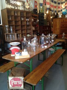 European Table Settings and these are the real maccoy !!  Prost !!! - Nook Vintage, Furniture Stores, Fitzroy, VIC, 3065 - TrueLocal