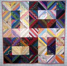 Pictures of String Quilts: Lotto Strings Quilt