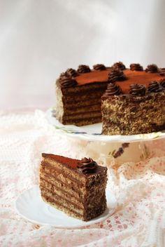 Stefánia-torta glutén- és cukormentesen
