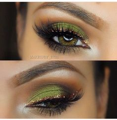 31 Pretty eye make-up for green eyes – hairstylesx.site 31 Pretty eye make-up for green … Pretty Eye Makeup, Makeup Looks For Green Eyes, Gold Eye Makeup, Beautiful Eye Makeup, Pretty Eyes, Makeup Geek, Love Makeup, Skin Makeup, Makeup Hacks