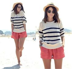 Love stripes and coral