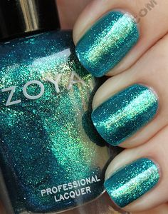 Charla by Zoya -- I have this on right now and it is like a mermaid in a bottle.