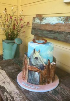 Emily's Horse cake by Helen Wilkinson of Who did the cake.