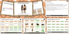 Stone Age Timeline Lesson Teaching Pack Powerpoint - history, KS2