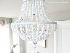 beaded chandelier - Google Search