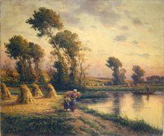 Georges Maroniez - Paysage rural (1893), New York, musée d'art Dahesh.