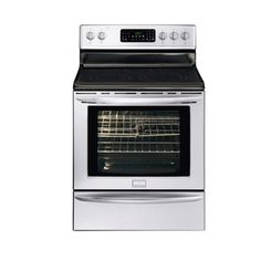 Frigidaire Gallery 30-in Freestanding Smooth Surface 5-Element 5.8 cu ft Self-Cleaning Convection Electric Range (Stainless)