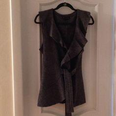 Beautiful Wool Ruffled Vest