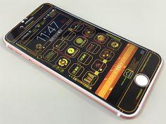 【iPhone6s対応】壁紙とアイコンセットになったシンクロスキンiPhone6に新デザインが追加! ロック画面でもホーム画面でもどちらにも合うデザインです♪ 壁紙と合わせたアイコンも「ホームに追加」で無料ダウンロード♪ カラーバリエーションもあるのでお気に入りの組み合わせがきっと見つかります(^^) #iphone6s