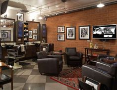 Barber Shop Designs Ideas and Sample Pictures