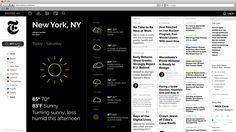 "This is a redesign concept of the famous american daily newspaper ""The New York Times"", founded and continuously published in New York City since 1851."