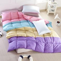Fall In Love Purple Comforter Teen Comforter Kids Comforter Down Alternative Comforter