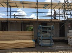 Our house will consist of three floor. This image provide an impression of the first layer.