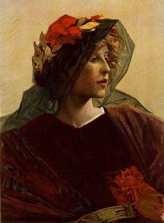 Alfred Pierre Joseph Agache ~ Imperia, 1899 ~ (French: 1843-1915)