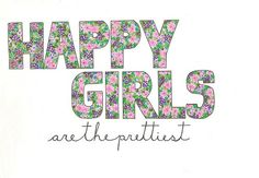 Happy girls are beautiful no matter what :-)