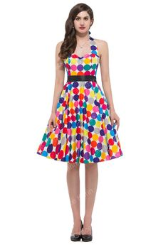 Family Reunion Frock - Fun, bright and summery - this dress will have people smiling as you walk by - it's almost like you're doing a public service!  You go lady!