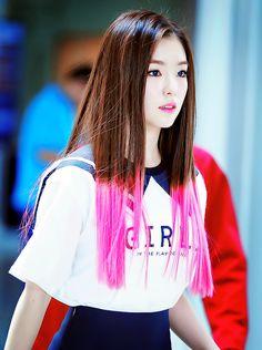 Image about kpop in Irene Red Velvet by HQ on We Heart It Red Velvet Irene, Seulgi, Girls Generation, Pretty In Pink, Girl Group, We Heart It, Adidas Jacket, Rain Jacket, Windbreaker