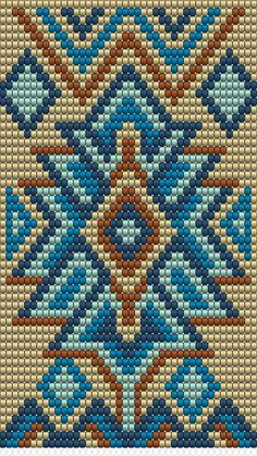 bead weaving patterns for beginners Tapestry Crochet Patterns, Bead Loom Patterns, Peyote Patterns, Weaving Patterns, Cross Stitch Patterns, Knitting Patterns, Jewelry Patterns, Color Patterns, Cross Stitches