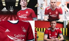Aberdeen FC 2021/22 adidas Home Kit